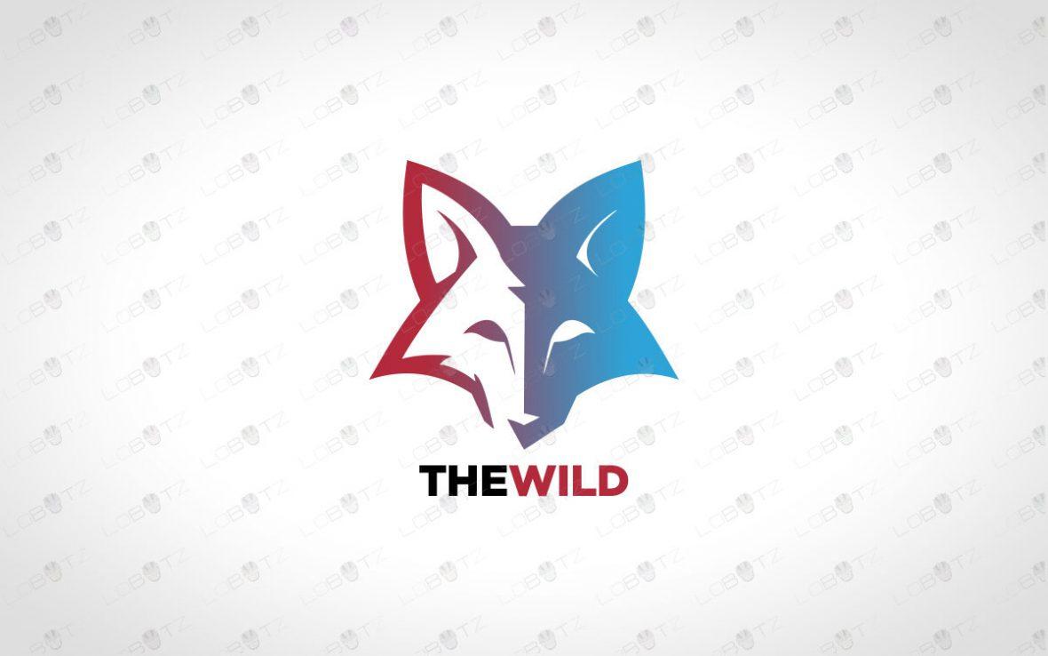 Premade Fox Logo For Sale   Creative Fox Logo For Sale
