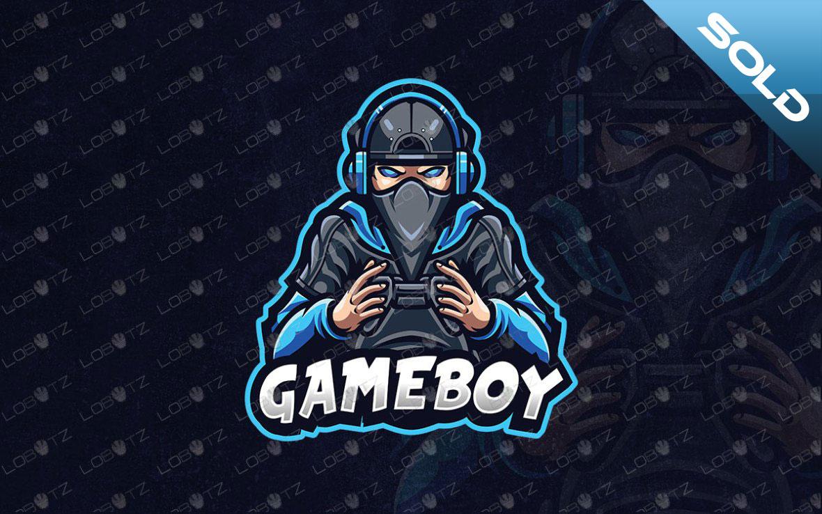 Premade Gamer Mascot Logo For Sale   Gaming Logo