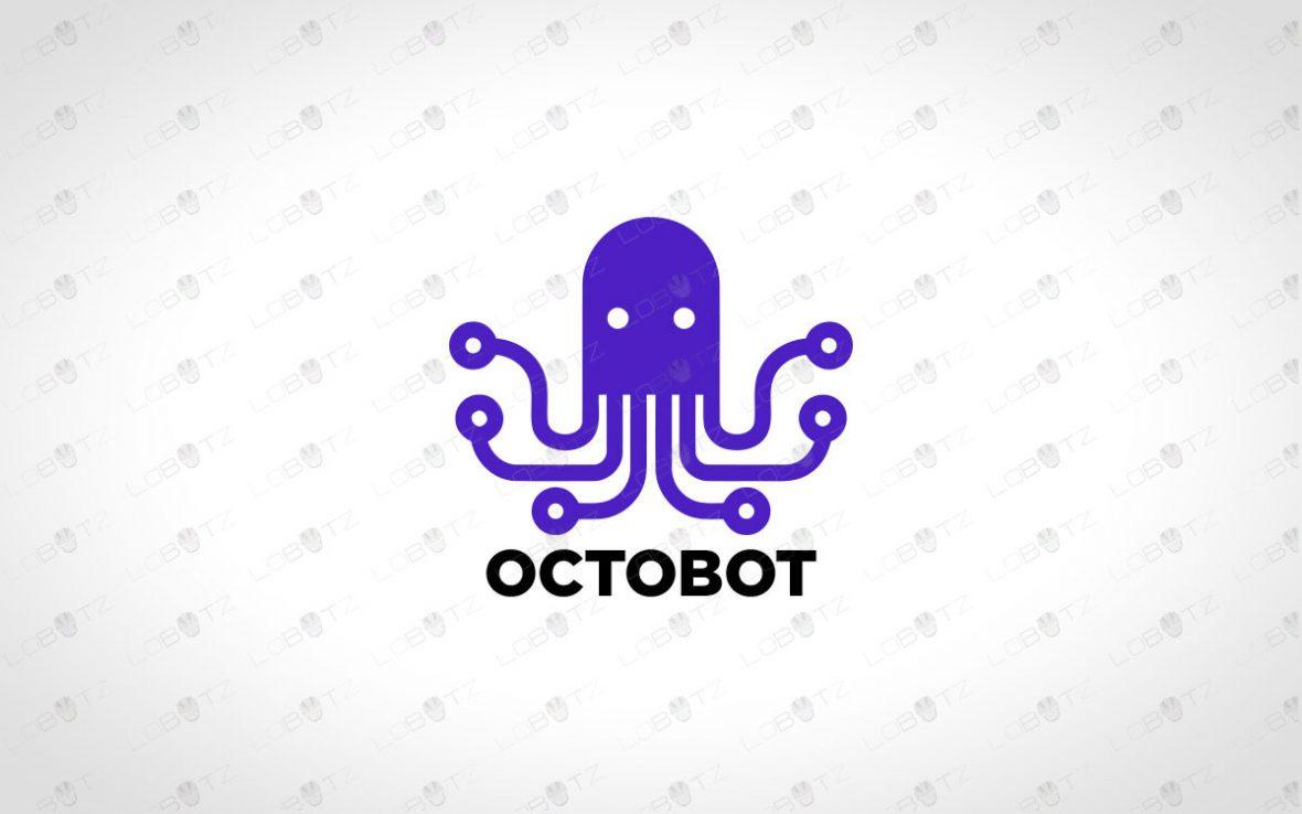 Octopus Logo   Modern & Unique Octopus Logo For Sale