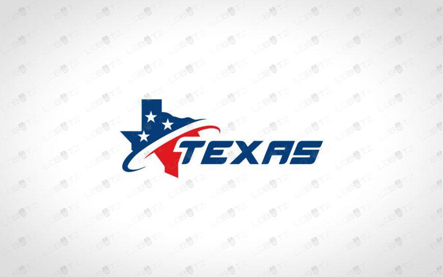 Premade Texas Logo For Sale   Texas Map Logo