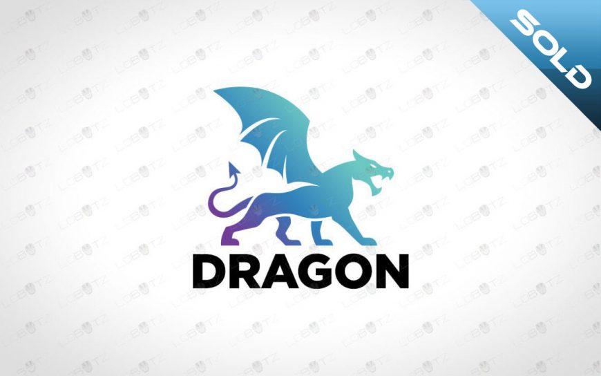 Premade Dragon Logo For Sale