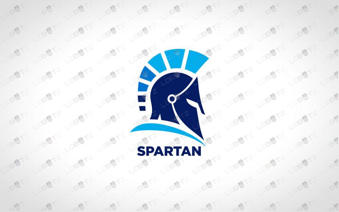 Spartan Logo For Sale   Premade Gladiator Logo