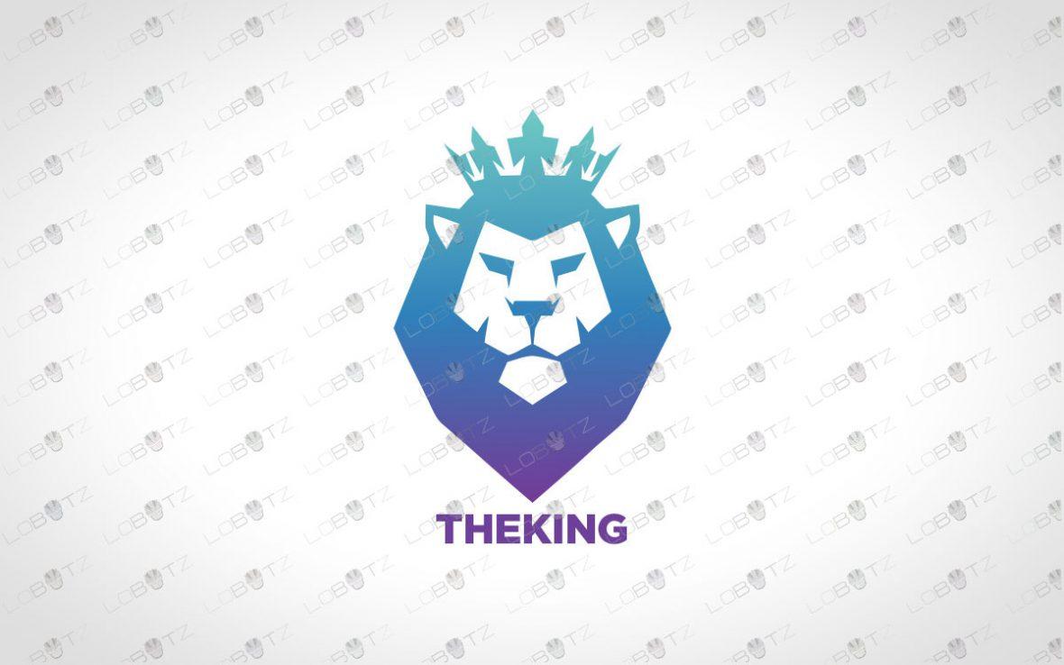 Majestic Lion Head Logo | Royal Lion Logo For Sale