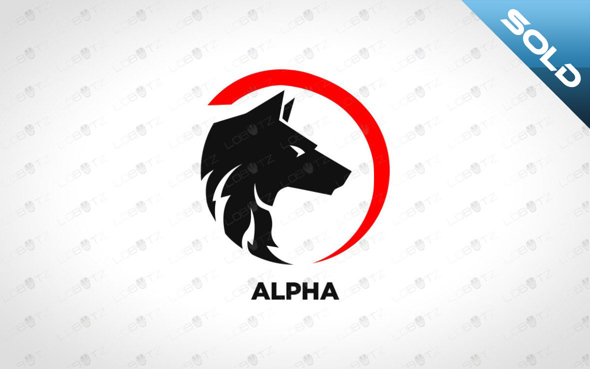 Wolf Logo For Sale   Strong Wolf Logo For Sale