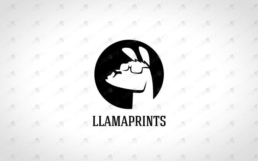 Premade Llama Logo For Sale