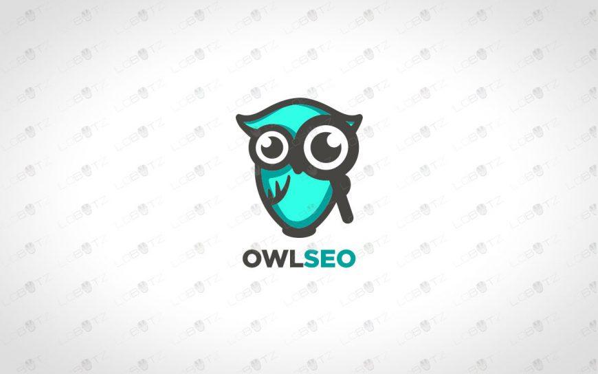 Premade Owl Logo | Majestic Owl Logo For Sale