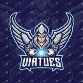 Angel ESports Logo For Sale | Angel Mascot Logo
