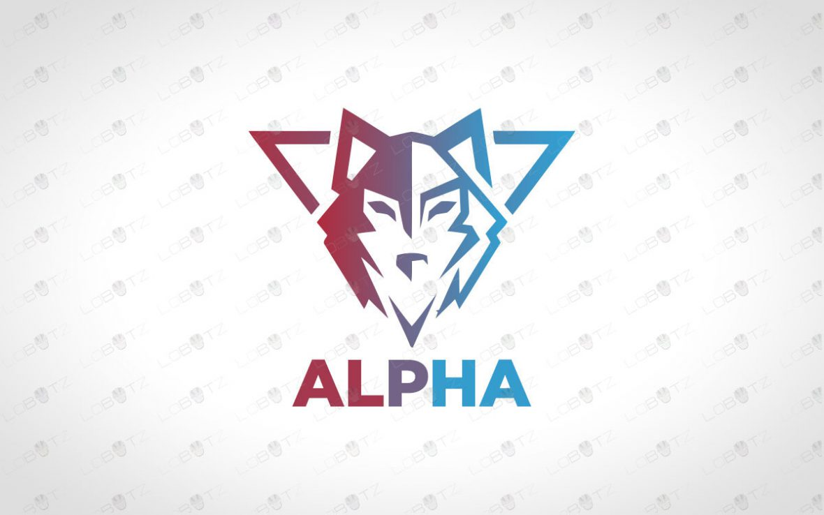ReadyMade Wolf Logo For Sale | Wolf Crest Logo