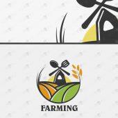 Premade Farm Logo For Sale | Farming Logo