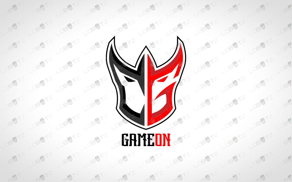 Letter CG Logo | Premade Letter CG Mascot Logo For Sale