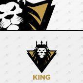 Premade Lion Head Logo | Royal Lion Logo For Sale