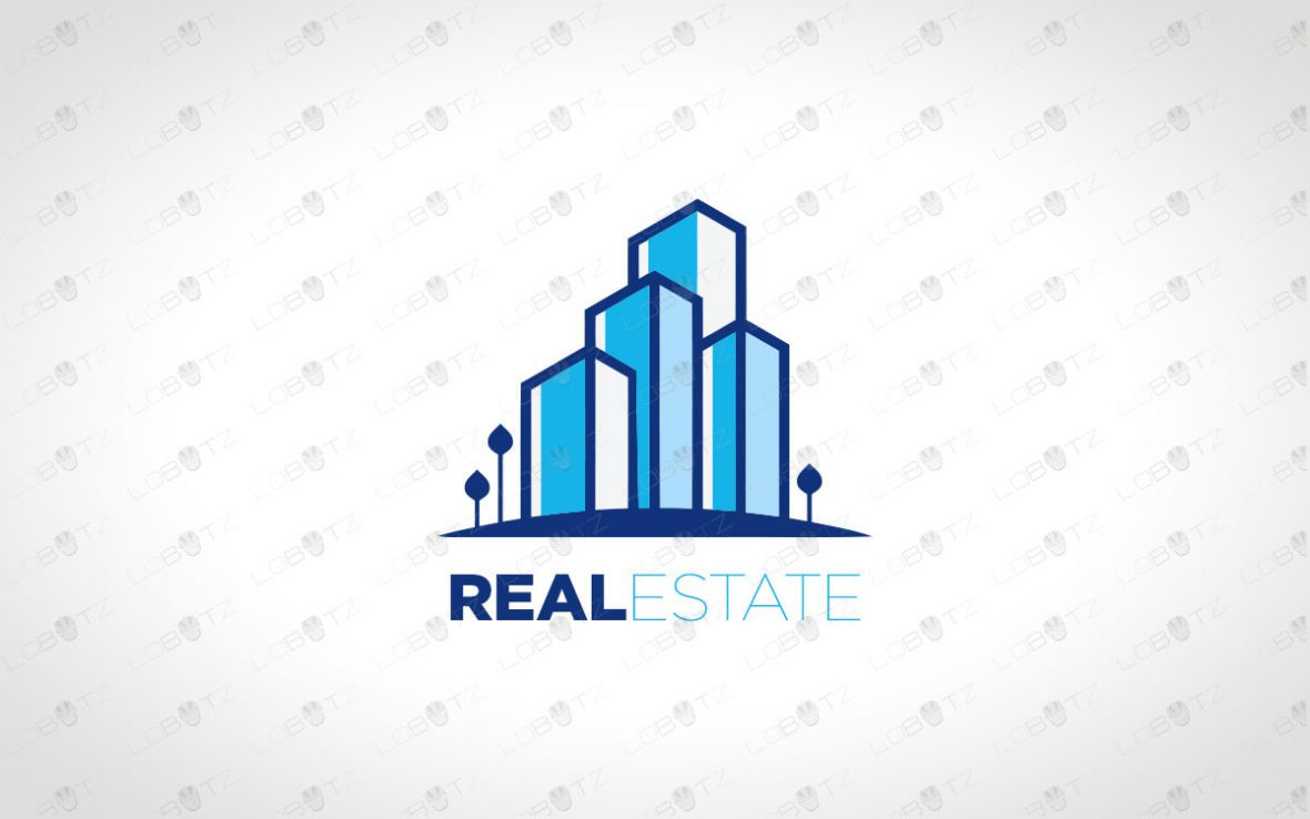 Premade Real Estate Logo | Modern Business Logo For Sale