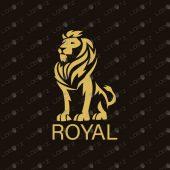 Premade Lion Logo   Royal Lion Logo For Sale