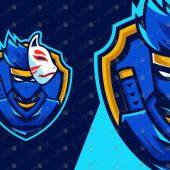 Premade Shinobi Logo   Shinobi ESports Logo   Shinobi Mascot Logo