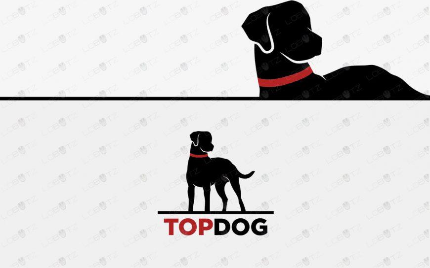 Premade Dog Logo For Sale Hunting Dog Logo