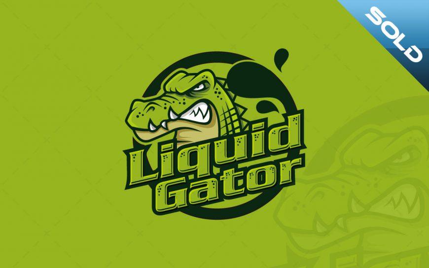 Gaming Logo | Awesome Gator Mascot Logo For Sale