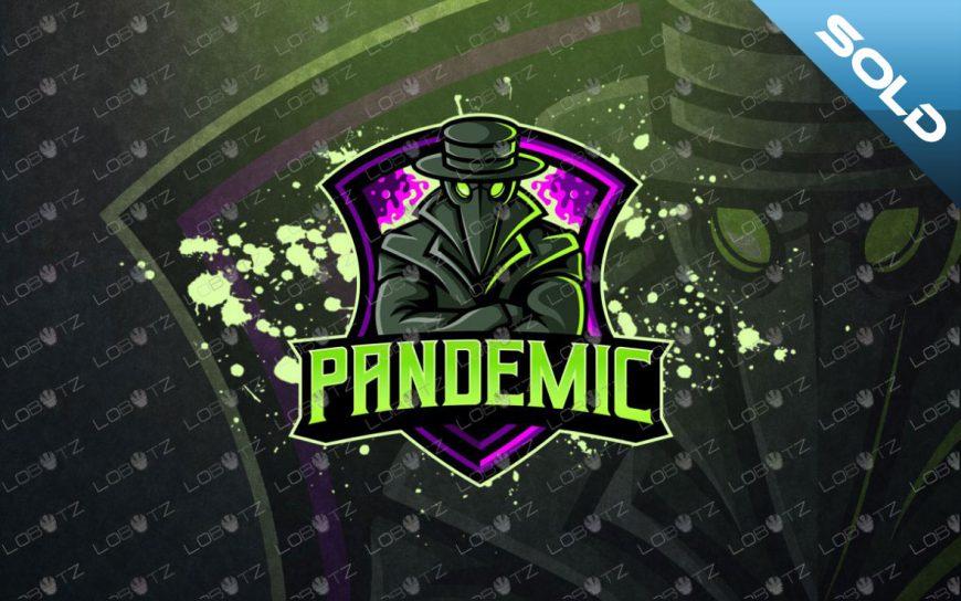 Plague Doctor Mascot Logo For Sale | Plague Doctor ESports Logo
