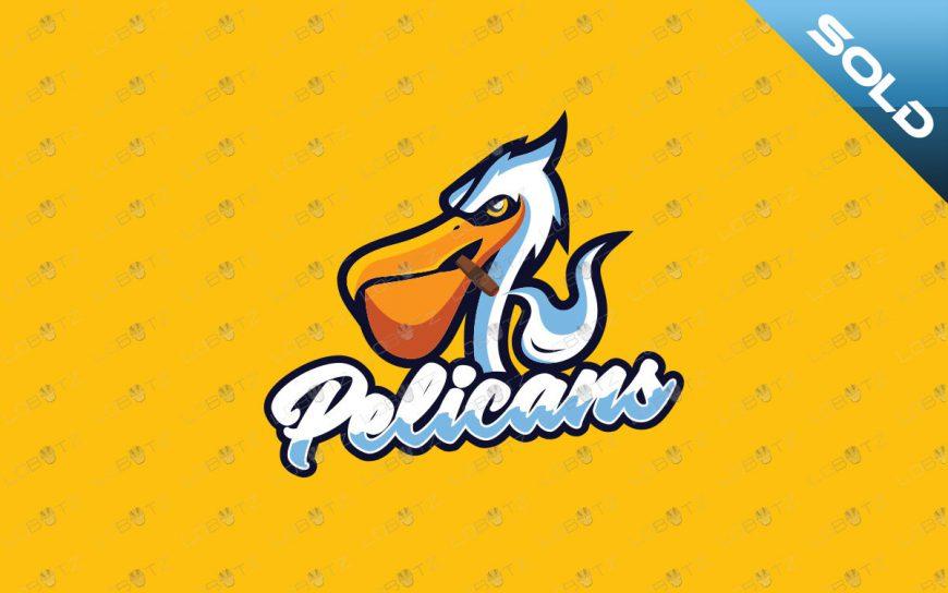 Pelican Mascot Logo For Sale Readymade Pelican eSports Logo
