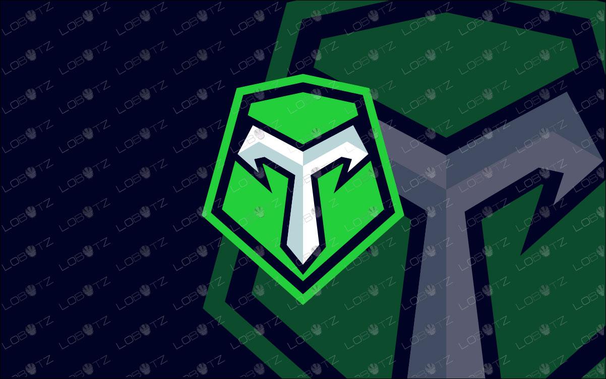 Letter T Mascot Logo | Premade Lettermark eSports Logo For Sale