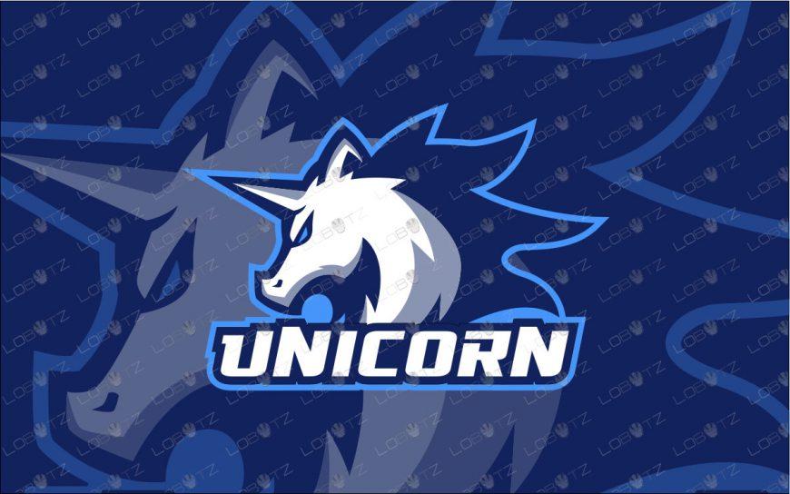 Premade Unicorn Mascot Logo | Unicorn eSports Logo For Sale